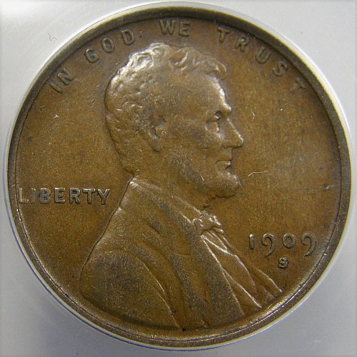 1909 S Lincoln Wheat Cent - Cherry Picker's Variety S/S FS-1501  RPM-1