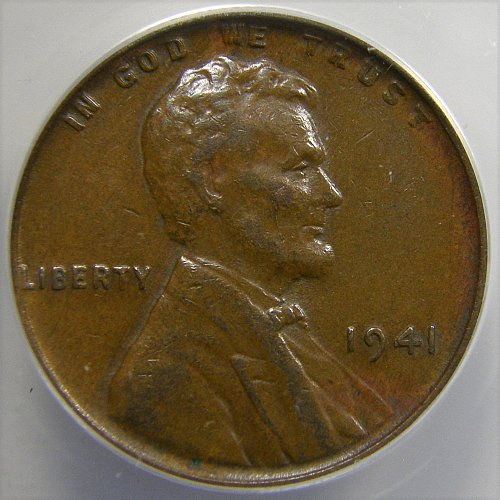 1941 P Lincoln wheat Cent DDO-001