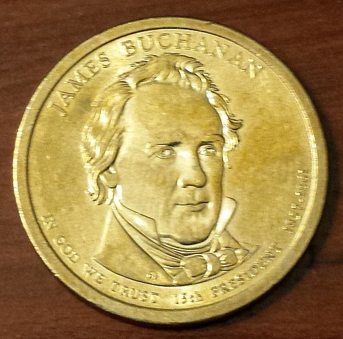 2010-P James Buchanan Presidential Dollar (5750)