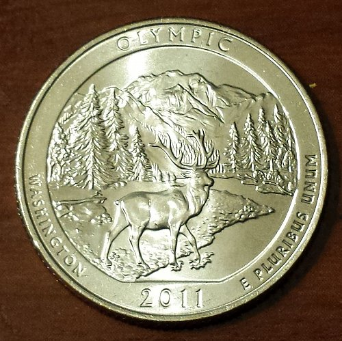 2011-D Olympic National Park Quarter (From Mint Roll) (5753)