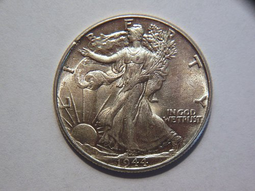 1944-P Walking Liberty Silver Half Dollar
