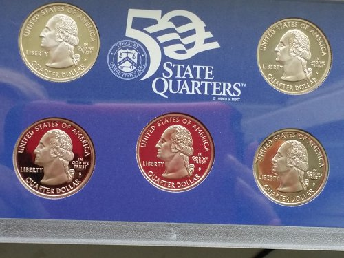 1999 50 State Quarters Proof