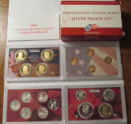 2009 US Mint Silver Proof Set