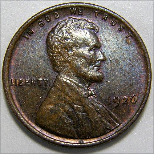 1926 P Lincoln Wheat Cent #1