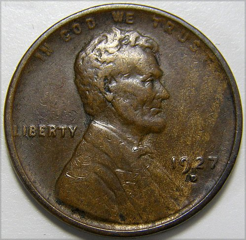 1927 D Lincoln Wheat Cent #6