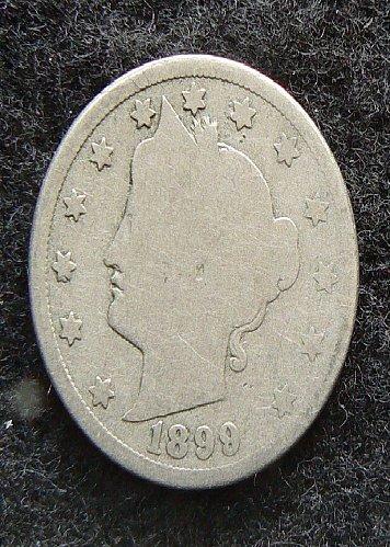 1899 P Liberty Nickel (G-4)
