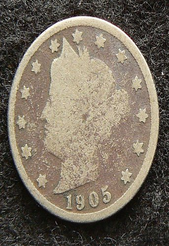 1905 P Liberty Nickel (AG)