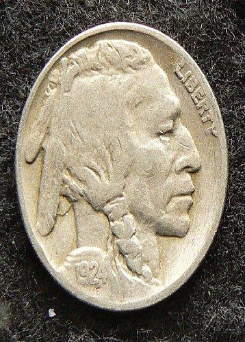 1924 P Buffalo Nickel (VG-8)