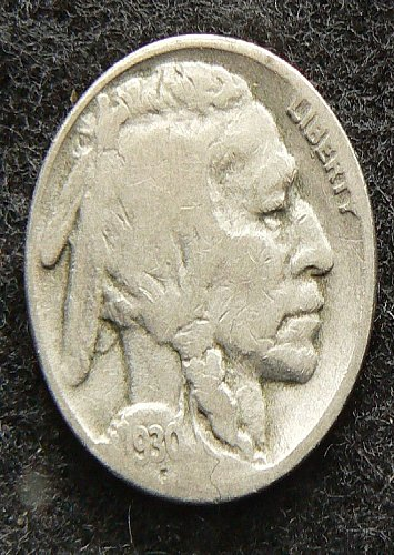 1930 S Buffalo Nickel (G-4)