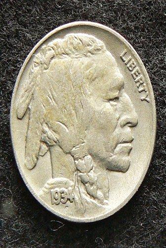 1934 P Buffalo Nickel (VF-20)