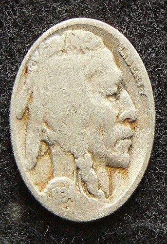 1934 D Buffalo Nickel (G-4)