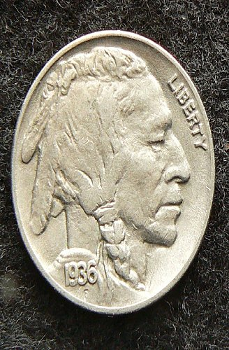 1936 P Buffalo Nickel (VF-20)