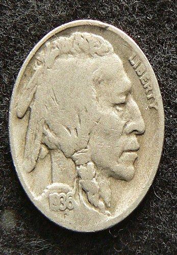 1936 D Buffalo Nickel (VG-8)