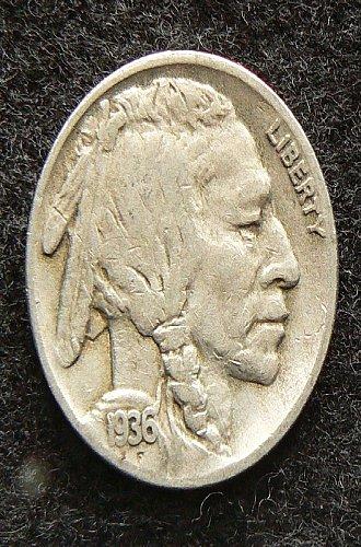 1936 S Buffalo Nickel (VG-8)