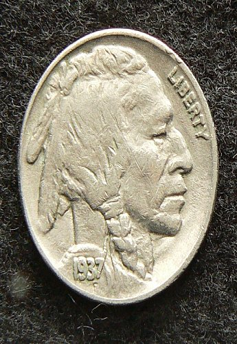 1937 P Buffalo Nickel (VF-20)
