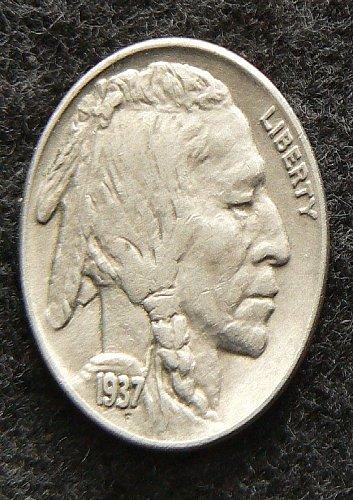 1937 P Buffalo Nickel (EF-40)