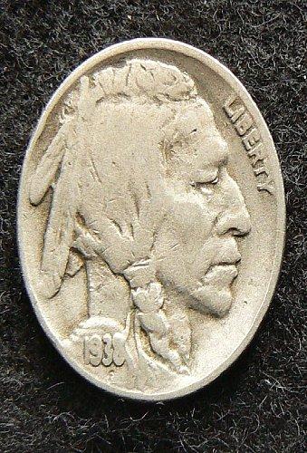 1938 D Buffalo Nickel (VG-8)