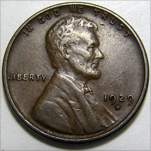 1929 D Lincoln Wheat Cent #2