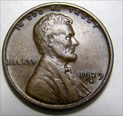 1929 D Lincoln Wheat Cent #3