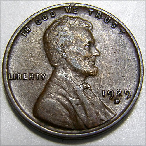 1929 D Lincoln Wheat Cent #4