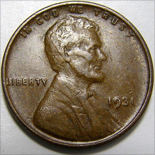 1931 P Lincoln Wheat Cent #7
