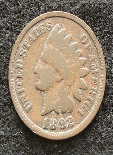 1892 P Indian Head Cent (G-4)