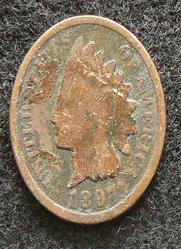 1897 P Indian Head Cent (AG)