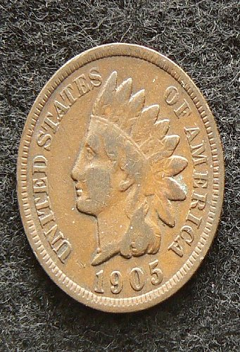 1905 P Indian Head Cent (F-12)