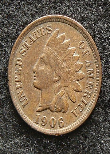1906 P Indian Head Cent (EF-40)