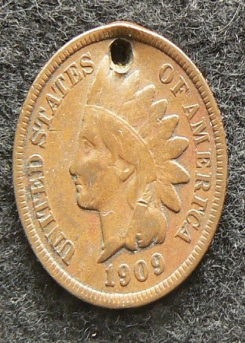 1909 P Indian Head Cent (F-12)