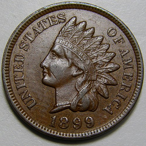 1899 Indian Head Cent #7