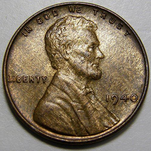 1940 P Lincoln Wheat Cent #2