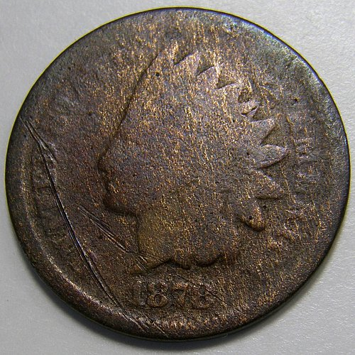 1878 Indian Head Cent #8