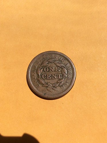 1853 and 1851 large cents