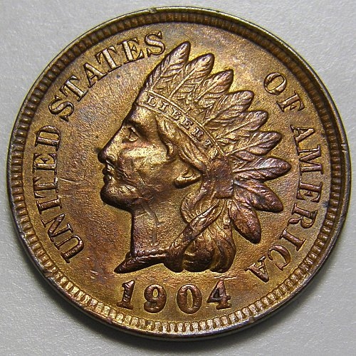 1904 Indian Head Cent #7