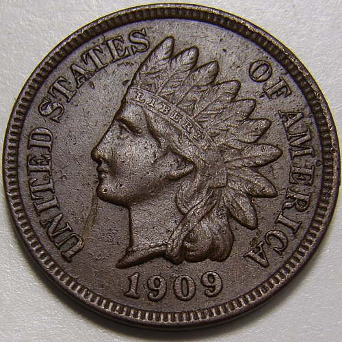 1909 Indian Head Cent #26