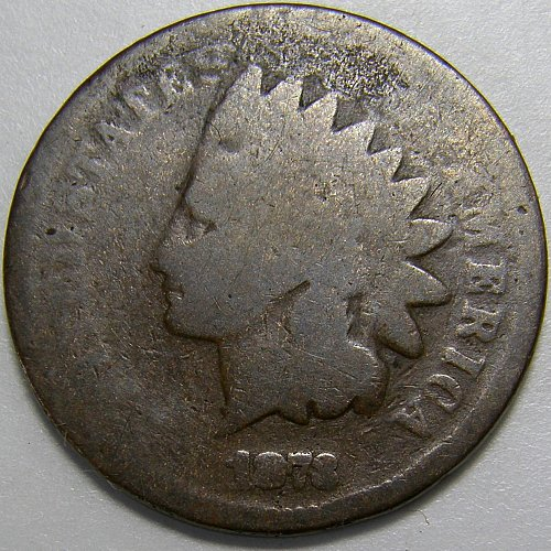 1873 Indian Head Cent #6