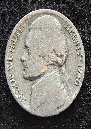 1940 P Jefferson Nickel (G-4)