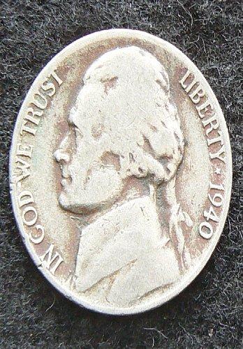 1940 D Jefferson Nickel (VG-8)