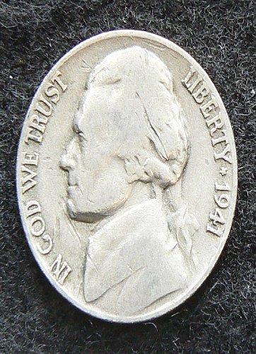 1941 D Jefferson Nickel (VG-8)