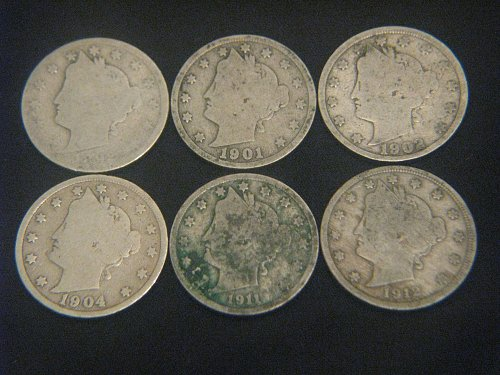 1892-1912 Liberty Nickels