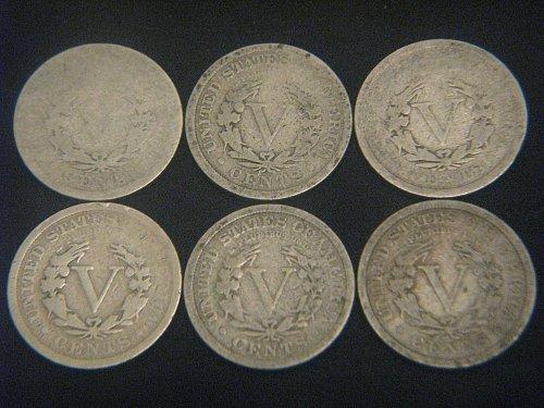 1892-1912 Liberty Nickels