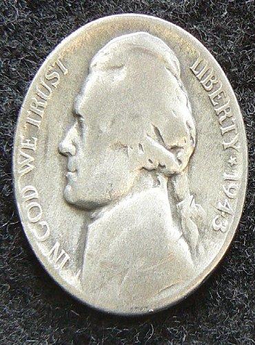 1943 S Jefferson Nickel (G-4)