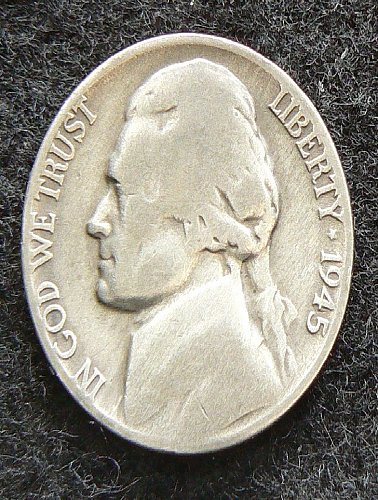 1945 P Jefferson Nickel (G-4)