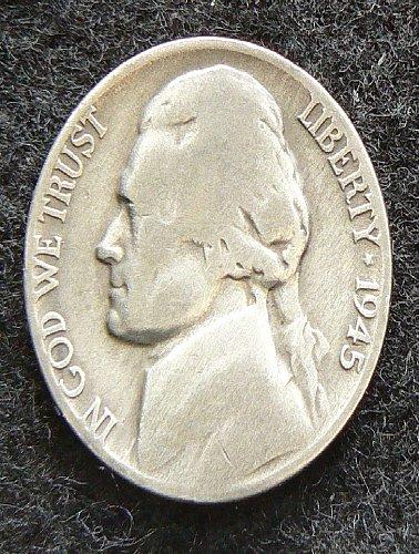 1945 P Jefferson Nickel (G-4)