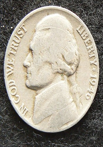 1946 P Jefferson Nickel (G-4)