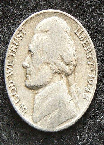 1948 D Jefferson Nickel (VG-8)