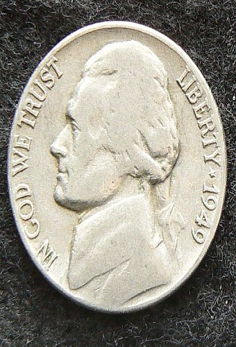 1949 P Jefferson Nickel (G-4)