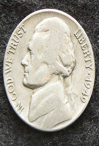 1949 P Jefferson Nickel (G-4)