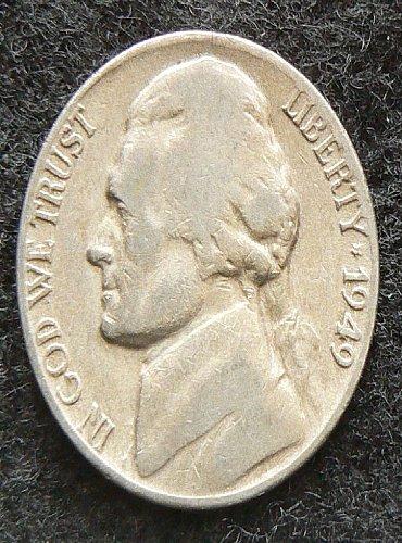 1949 D Jefferson Nickel (G-4)